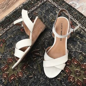 [Lucky Brand] low wedge sandals